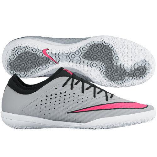 6e79211c4 Nike Mens Grey Pink MercurialX Finale IC Soccer Shoes Size 11 Medium (d M)  for sale online