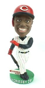 MLB-2001-Donruss-KEN-GRIFFEY-JR-Reds-BOBBLE-HEAD-Limited-Edition-1636-2000