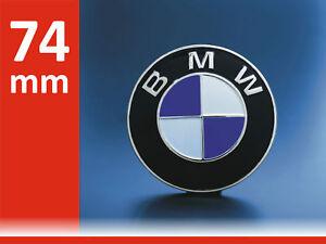 DE-Emblem-fuer-BMW-Auto-Kofferaum-74mm-Logo-Plakette-Roundel-Badge-Kofferraum