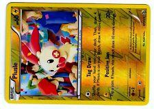 POKEMON BW11 BLACK & WHITE LEGENDARY TREASURES HOLO REV N°  47/113 PLUSLE