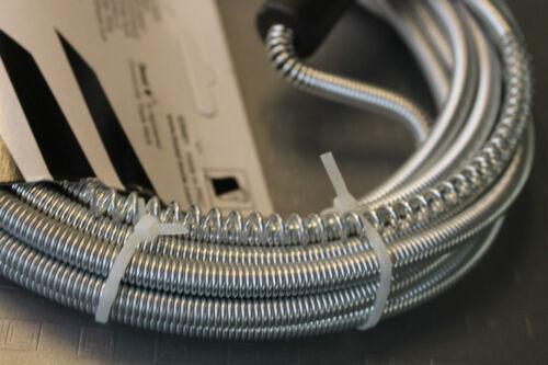 Rohrreinigungsspirale  8 mm x 5  m Für Waschbecken Reinigen  Welle OHNE CHEMIE