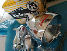 Vintage NOS Bicycle Light Dynamo Set KADOMAX 20V-10W for RALEIGH SCHWINN BSA NEW