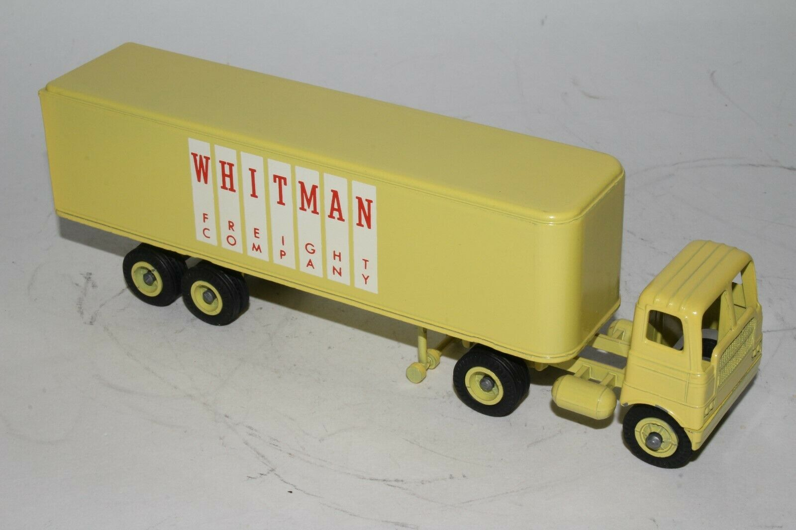 Winross 1960's Whitman Freight Co Semi Camion, Nice Original
