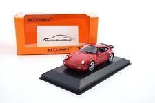 1//87 Minichamps Porsche 911 Turbo 1990 rot 870069100