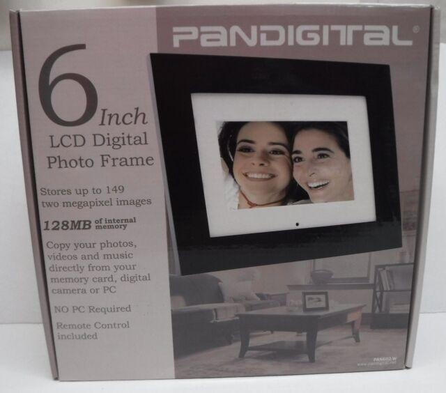 Pan602 602 W Pandigital 6 Inch Lcd Digital Photo Frame 892235000067