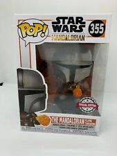 Funko Pop Star Wars The Mandalorian Flame Throwing 355 Special Edition