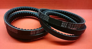 Details about ENGINE FAN / ALTERNATOR BELT x2 - MITSUBISHI DELICA 2.8 on