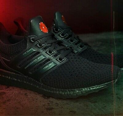 best website 8416d 4c977 MANCHESTER UNITED × ADIDAS ULTRABOOST CLIMA EG8088 Limited NEW Free  Shipping | eBay