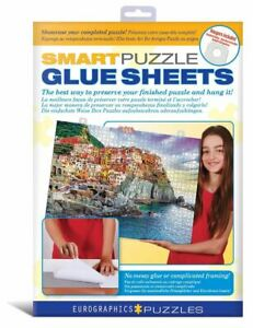 Smart Puzzle Glue Sheets - We Ship Worldwide & FREE To The USA * FUN AT HOME!