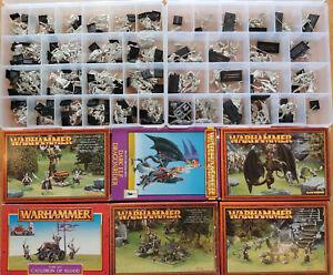 Huge-Multi-listing-Dark-Elf-Elves-Mint-metal-models-box-sets-Classic-Scarce-OOP