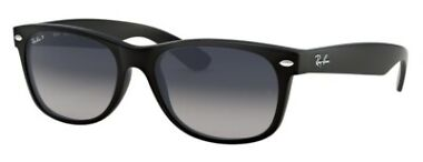 Ray Ban Wayfarer 55mm Gradient Polarized Sunglasses