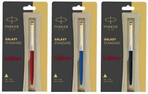 Parker-Galaxy-GT-Ball-Point-Pen-BP-Red-Blue-Black-Body-Vector-Jotter-Classic-New