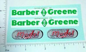 Doepke Barber Greene Loader Sticker Set         DP-005
