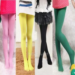 Children-Baby-Girls-Pantyhose-Kids-Tights-Ballet-Stockings-Velvet-Candy-Color