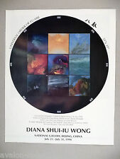 Diana Shui-Iu Wong Lithograph Print PRINT AD - 1994 ~~ Universal Order of Fu-Hsi