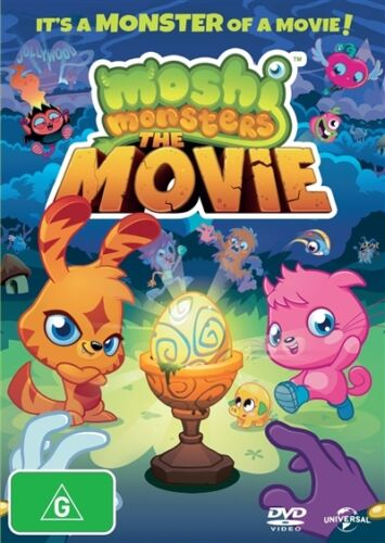 1 of 1 - Moshi Monsters - The Movie (Dvd) Animation, Adventure, Family, Children Comedy