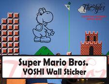 Super Mario Bros. Yoshi Wall Custom Vinyl Sticker