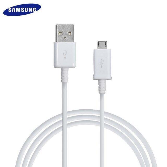 CAVO DATI ORIGINALE MICRO USB  SAMSUNG S4 S5 S6 S7 EDGE J3 J5 J7  Note CARICA
