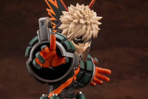 ARTFX J My Hero Academia Katsuki Bakugo W// No Mask Face Parts Kotobukiya Limited