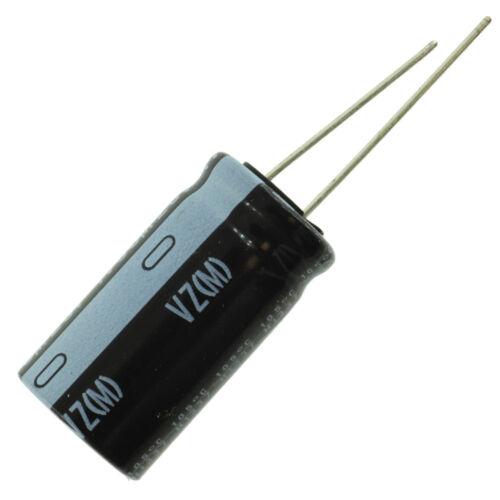10000 uF @ 10V 16mm x 35.5mm Nichicon UVZ VZ electrolytic capacitor