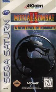 Mortal-Kombat-2-Sega-Saturn-Great-Condition-Fast-Shipping