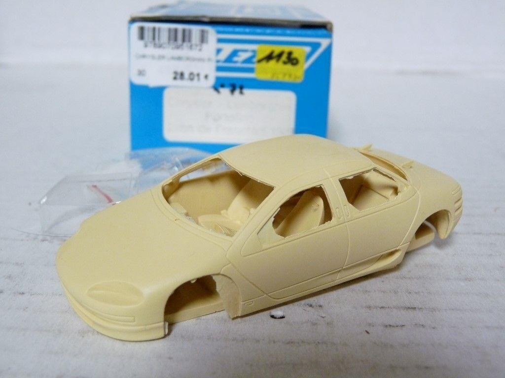 Alezan 072 1  43 1987 Chrysler Lamborghini Portofino Handmade hkonsts modelllllerler bil Kit
