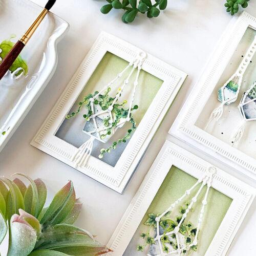 Flower Hanging Basket Bamboo Metal Cutting Dies Stencils For DIY Scrapbooking
