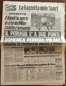 GAZZETTA-DELLO-SPORT-02-04-1979-MILAN-NAPOLI-0-1-GOAL-MAJO-5-MAGGIO