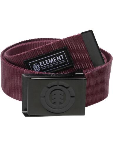 Element Oltre Webbing Cintura in NAPA RED