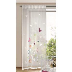 Kinderzimmer Gardine Spring Schmetterling 140x245cm Vorhang ...