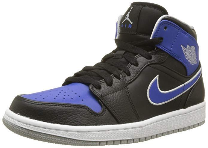 NIKE Air Jordan 1 Retro Mid Neu Game Royal Gr:44 US:10 Neu Sneaker 2 3 4 5 6 7