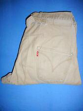Levi Strauss progettato Twisted Cinch jeans denim uomo beige-W30 L30-G41