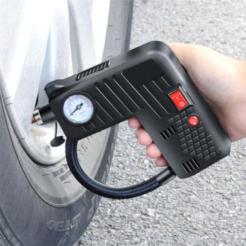 Tire Tyre Inflator Premium Electric Portable Auto Air Compressor Pump Car 12V