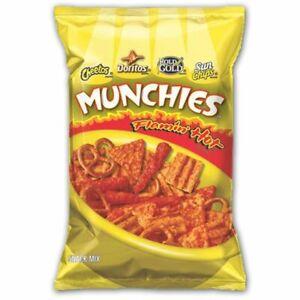 Frito-Lay Munchies Snack Mix FLAMIN HOT, Sun Chips Doritos Cheetos Pretzels 1 Ct