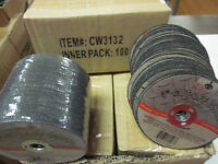 "~ 800 ~ 3"" x 1/32"" thick x 3/8"" AIR METAL CUT OFF WHEEL CUTTING DISC 25,000 RPM"