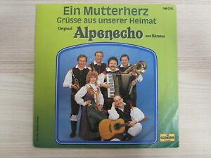Single / ORIGINAL ALPENECHO AUS KÄRNTEN / AUSTRIA / RARITÄT /