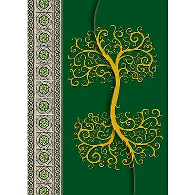 NEW Celtic Tree Green Journal Lo Scarabeo