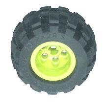 Missing Lego Brick 6579 Black Tyre 43.2 x 28 Balloon Small & 6580 Lime Wheel