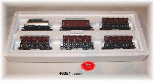 Märklin 46351 pozzetti Kipp Set carro della DB 6 pezzi #neu in OVP #