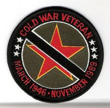 VETERAN PATCH - COLD WAR VETERAN