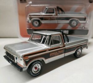 1979-Ford-F100-Truck-1-64-Scale-roll-bar-official-indy-500-commemorative-pickup
