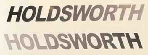 Holdsworth Double downtube decals
