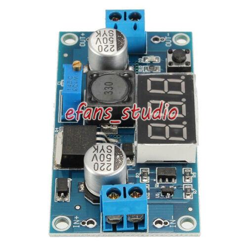 LED Digital Ajustable DC-DC Buck Step Down convertidor de 4V-40V a 2V-37V 12V 5V 3A