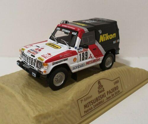 NOREV 1//43 Rallye Paris Dakar 1985 Mitsubishi Pajero Zaniroli Da Silva