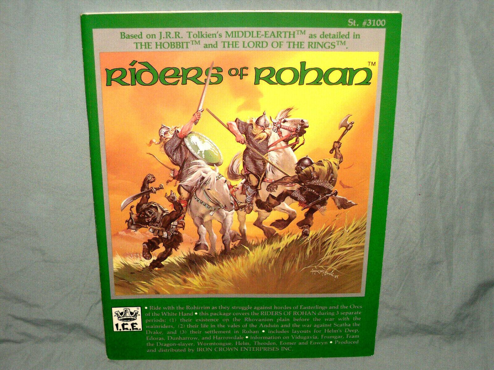 I.C.E. MERP 1st Ed Aid -  RIDERS  OF ROHAN  (VERY RARE with MAPS e NEAR MINT  )  punto vendita