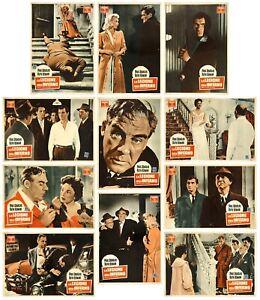 LA LEGIONE DELL'INFERNO FOTOBUSTE 9 PZ. KEN HUGHES 1955 JOE MACBETH LOBBY CARD