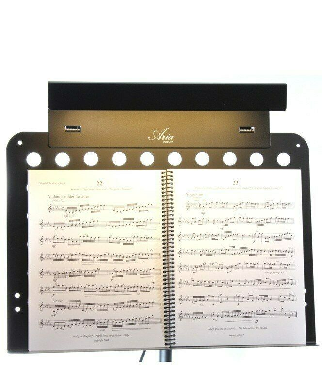 Aria Solo LED Music Stand Light
