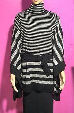 (C191) Ladies Karen Millen Wool Blend  Poncho Style Jumper Size 4 (KM)
