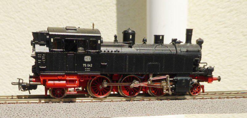 3313 H0 tender-dampflok BR 75 042 EX T 5 DB ep. 3 analogico usato
