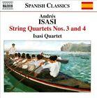 Andr's Isasi: String Quartets Nos. 3 & 4 (CD, Nov-2013, Naxos (Distributor))